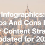 Infographics: Pros and Cons for Your Content Strategy - Updated for 2020