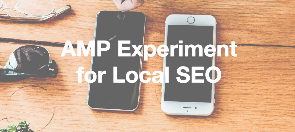 amp experiment for seo - method and metric agency