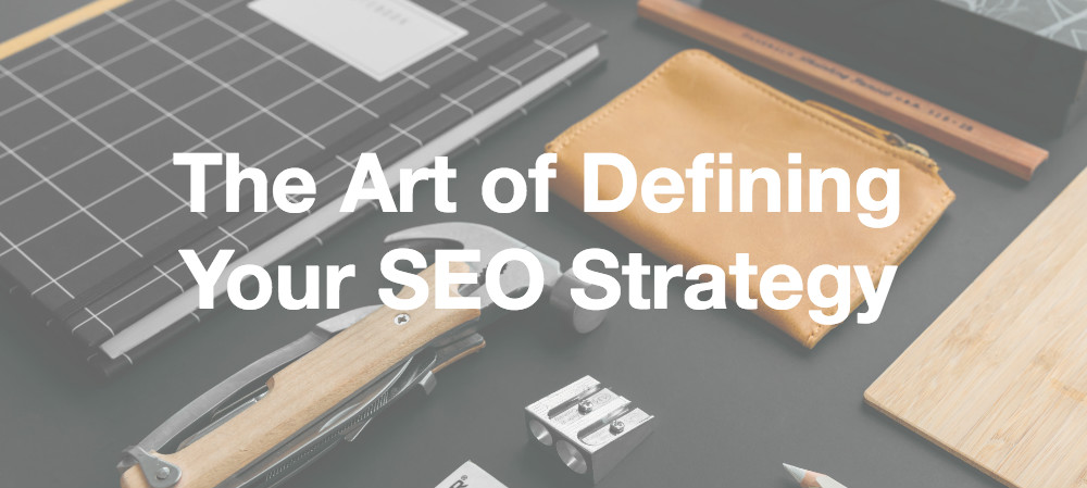 defining your seo strategy header