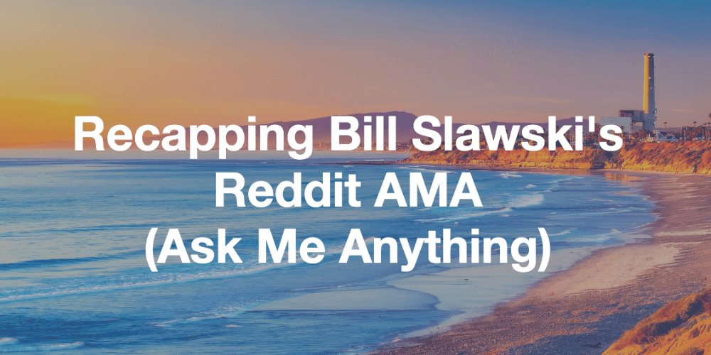 Reddit AMA (Ask Me Anything) with Bill Slawski