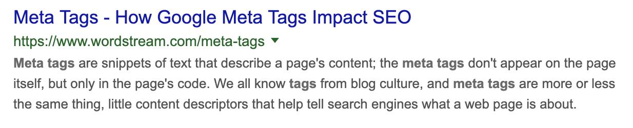 meta tags example for seo