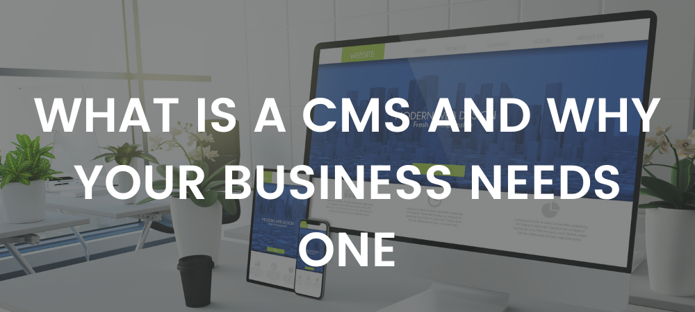 What is a CMS and Why Your Business Needs One